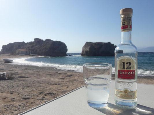 grieschischer Abend in der Bucht Mulokope