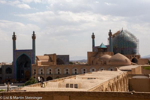 Blick auf die große Moschee