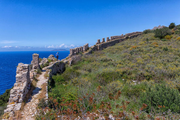 ottomanische Burg in der Bucht von Navarino