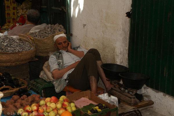 im Souk in Tetouan