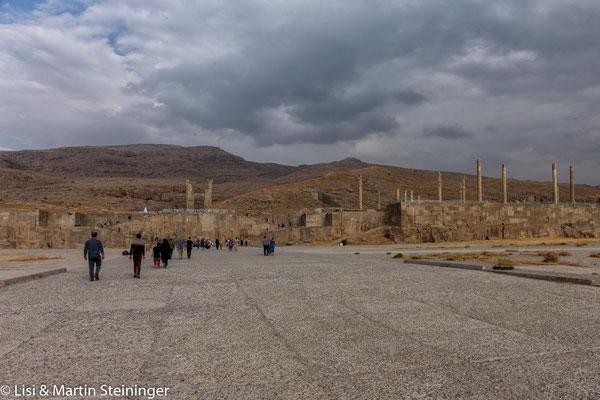 Persepolis von der Ferne :-(