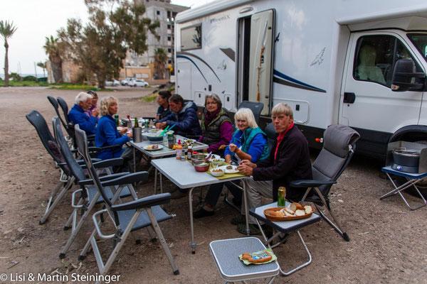 letztes Abendmahl in Israel