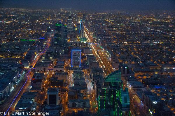 nächtliches Riyad