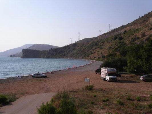 kurz vor der albanischen Grenze