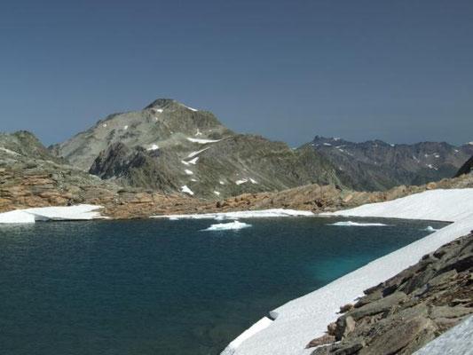 """""""Gipfelsee"""" am Col de Sommelier"""