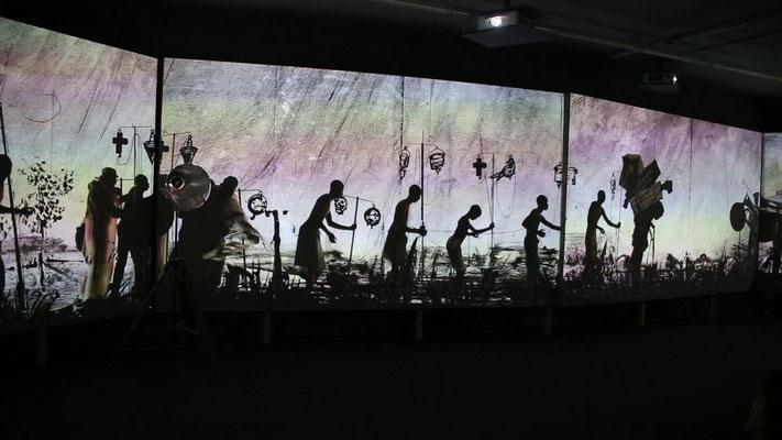 Videooinstallation im Seitz Mocaa Museum