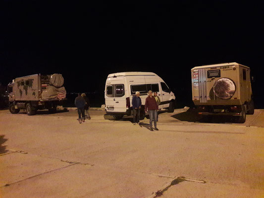 Übernachtungsplatz in Patras
