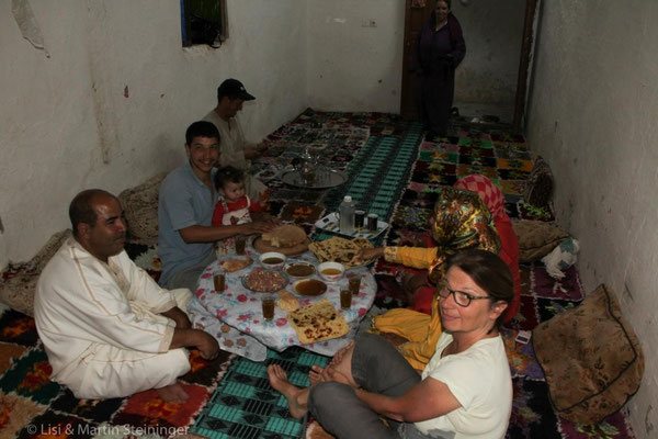 Familienfeier zum Ende des Ramadan