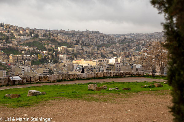 die sieben Hügel von Amman