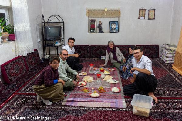 Einladung bei Kurden