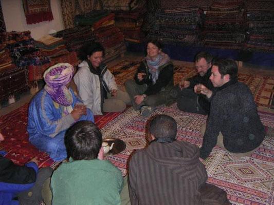 Sterstunden beim Teppichhändler