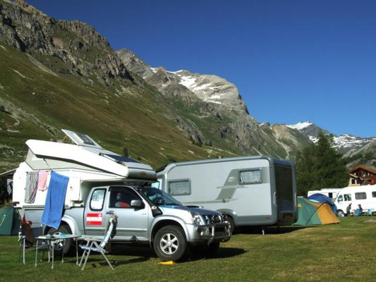 netter Campingplatz in Val d´ Isere