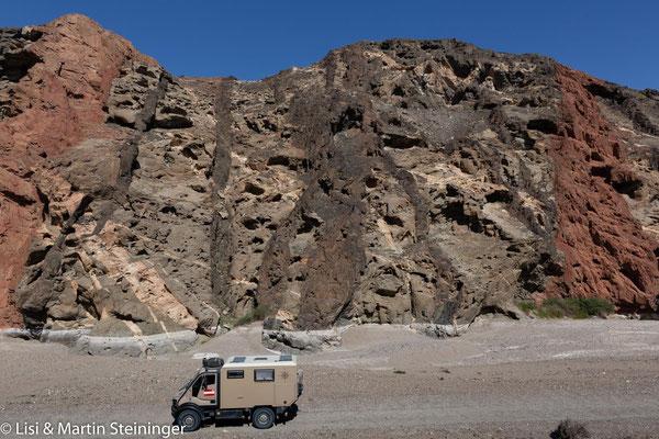 um uns das geologisch älteste Gestein im Oman - 1,3 Mio Jahre !