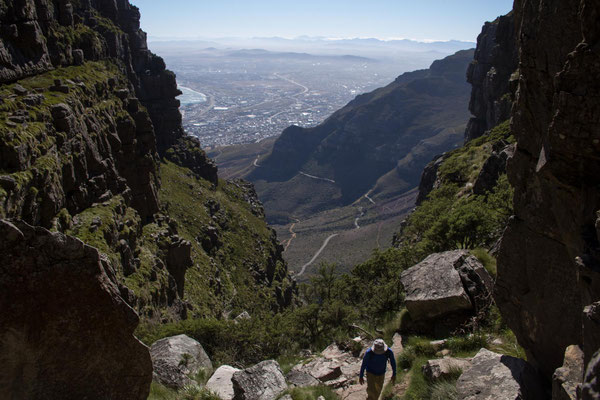 PlatteKlip Gorge auf den Table Mountain