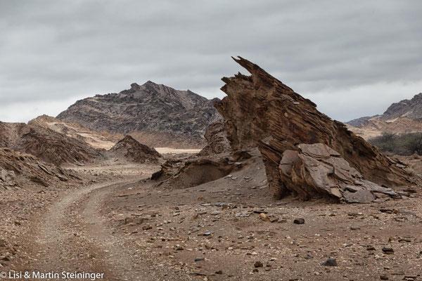 Ausfahrt Richtung Desolation Valley