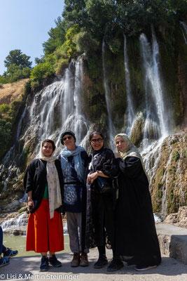 Bisheh-Wasserfälle