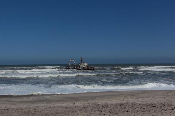 Zeugnis einer gefährlichen Küste