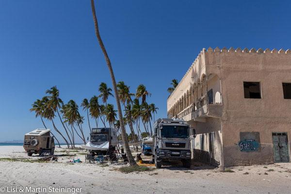 Ovderlander-Treff in Salalah beach