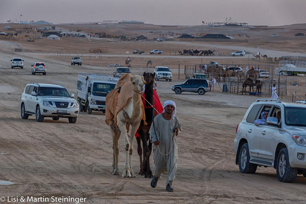 million street beim Camel Beauty Contest