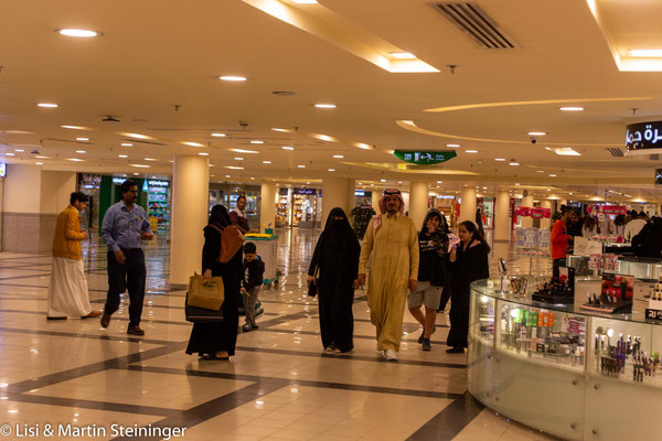saudischer Einkaufsbummel