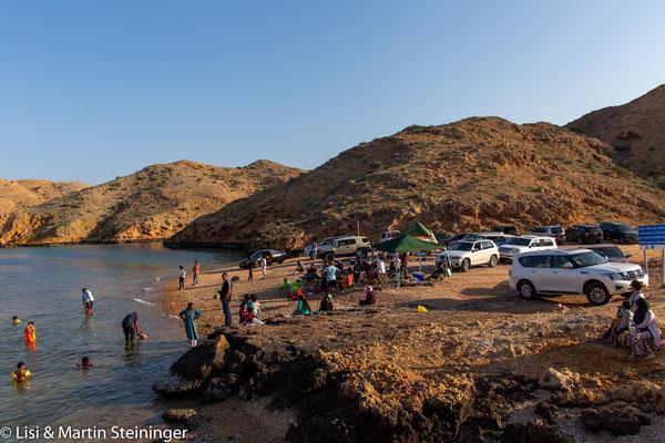 Omanischer Famiienausflug