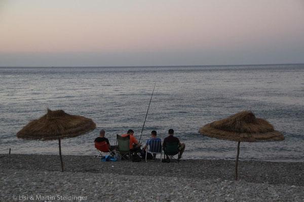 Abschied am Mittelmeer vor Tetouan