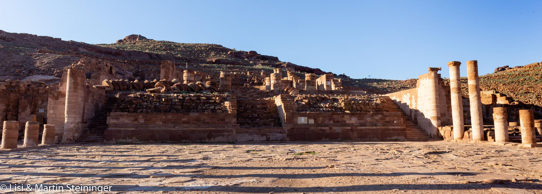 großer Tempel Petra