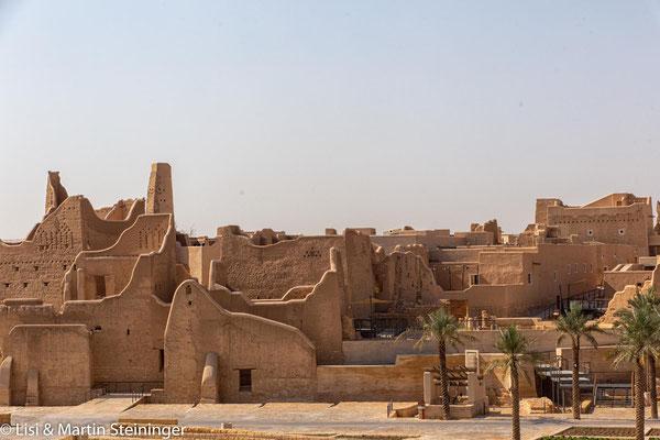 Diriyah - historische Lehmstadt von Riyad - UNESCO Weltkulturerbe