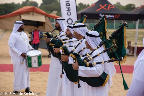 Begrüßungskapelle beim Traveller Festival
