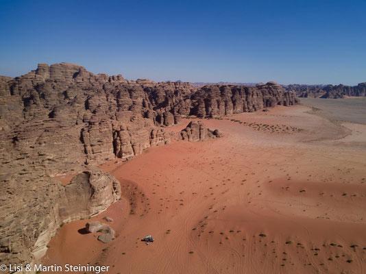 unser Standplatz in Hisma desert