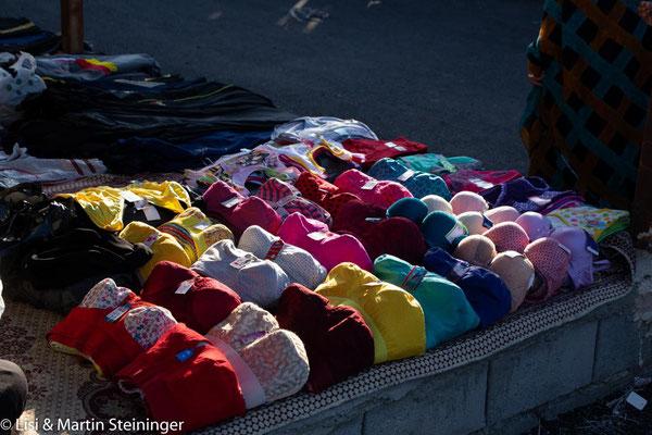 am Donnerstagsmarkt in Minab