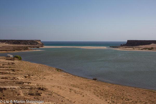 versandeter alter Hafen von Khor Rori
