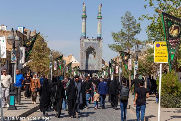 Ashura-Feierlichkeiten in Yazd