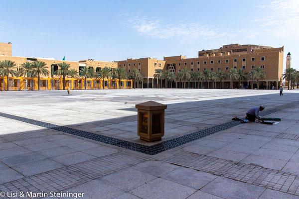 Platz vor der großen Moschee in Riyad - heute noch Ort von öffentlichen Hinrichtungen