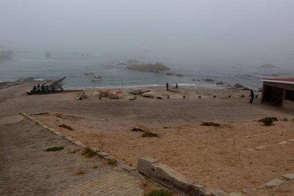 LobsterFischer im Nebel