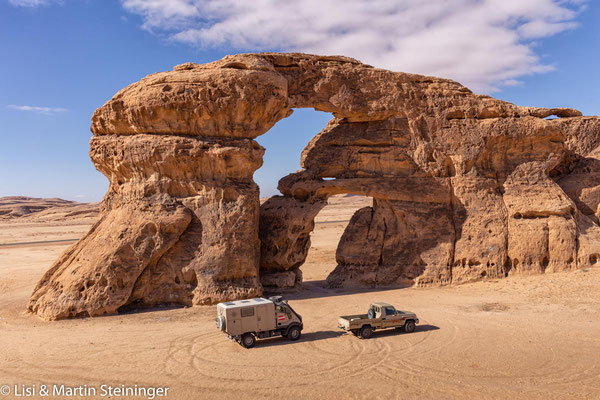double arch rock