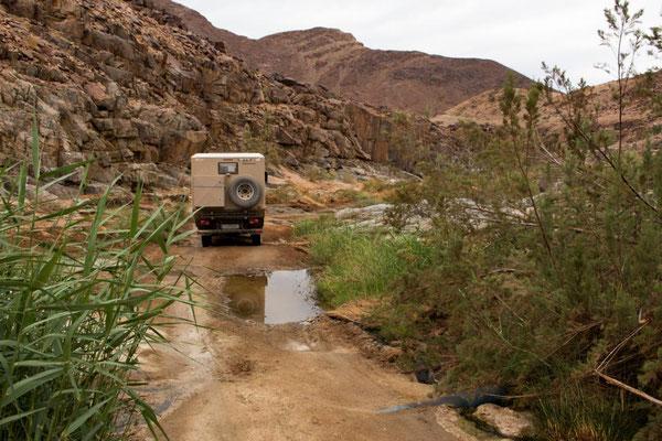 spannende Piste zum Oranje River