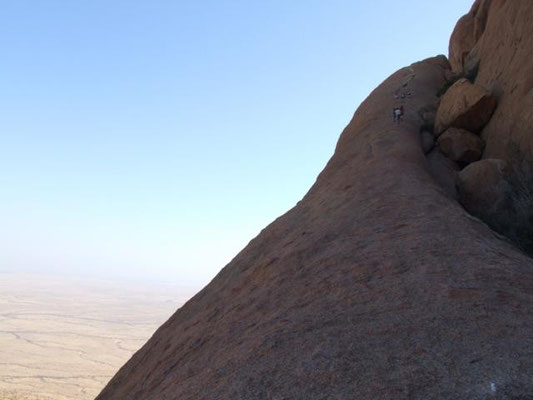 steile Rampe