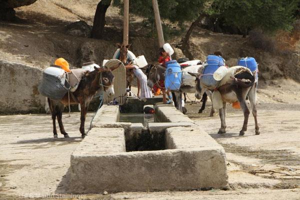 Wasserversorgung am Land
