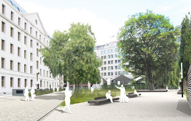 Hofgarten, Berlin (planung.freiraum 2011)