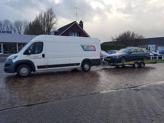 Wijnholt Service ook  de koerier voor uw auto transport