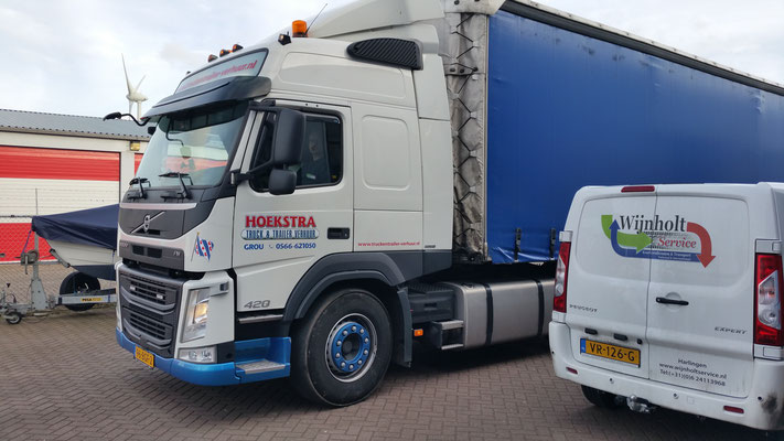 Wijnholt Service kan ook groter transport regelen