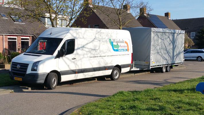 Wijnholt Service de koerier voor uw snel transport