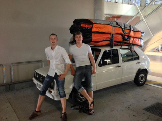 "Unser ""Surfmobil"""