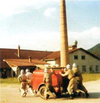 1956 - der erste TS-Anhänger