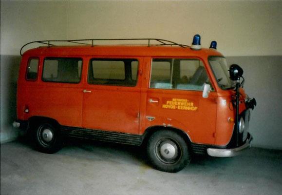 1974 - FK 1000 von der FF Lahnsattel