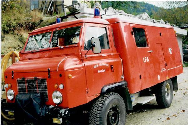 Rover II - Leihgabe der FF St.Aegyd/Markt