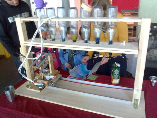 Projektarbeit Reformschule Kassel: Coctail-Mix-Maschine