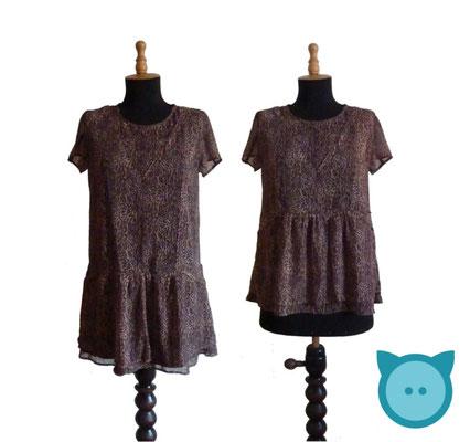 Kleid zu Oberteil umgenäht