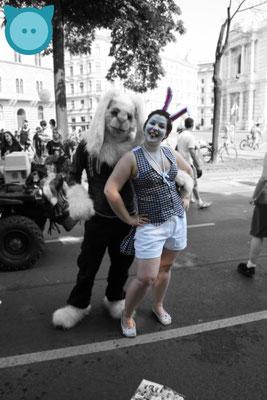 Weißes Kanninchen